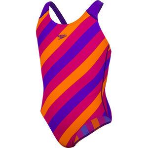 speedo Allover Splashback Badeanzug Mädchen purple/pink purple/pink