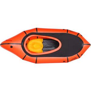 nortik TrekRaft Beiboot mit Verdeck orange/schwarz orange/schwarz