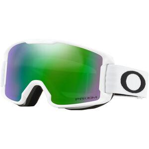 Oakley Line Miner Snow Goggles Kinder matte white/w prizm snow jade iridium matte white/w prizm snow jade iridium