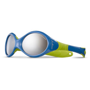Julbo Looping II Spectron 4 Sunglasses 12-24M Kinder blue/lime green-gray flash silver blue/lime green-gray flash silver