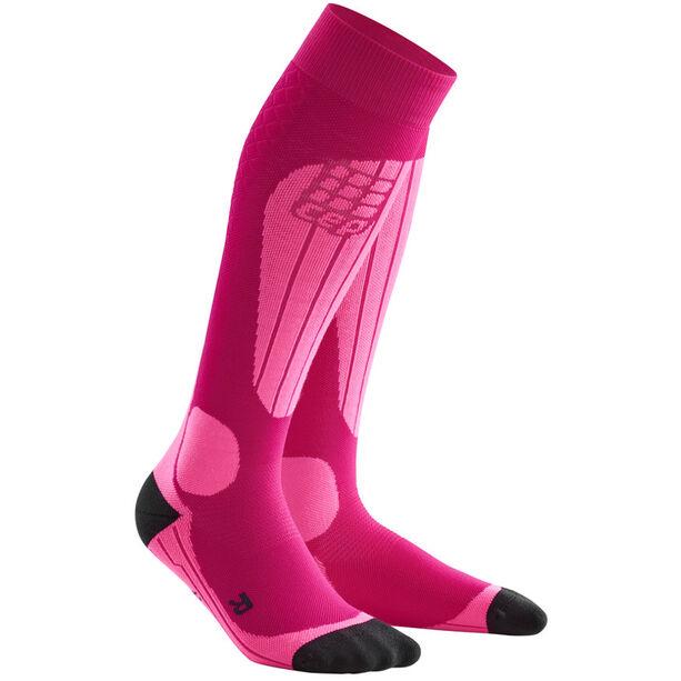 cep Ski Thermo Socken Damen pink/flash pink