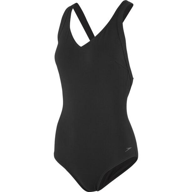 speedo Opalweb Swimsuit Damen black