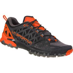 La Sportiva Bushido II Running Shoes Herren carbon/tangerine carbon/tangerine