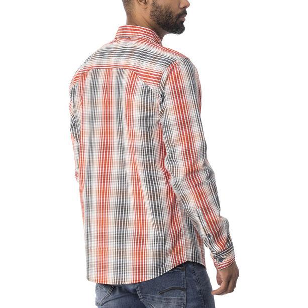 Royal Robbins Vista Chill Plaid LS Shirt Herren crimson