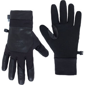 The North Face Etip Leather Gloves Herren black black