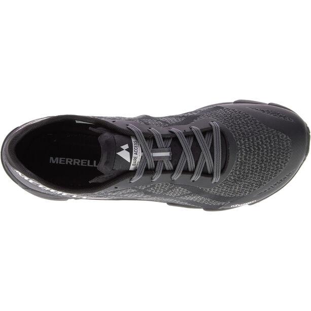 Merrell Bare Access Flex Shield Shoes Herren black and white