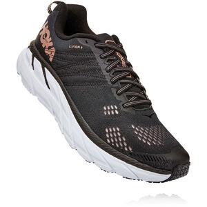 Hoka One One Clifton 6 Schuhe Damen black/rose gold