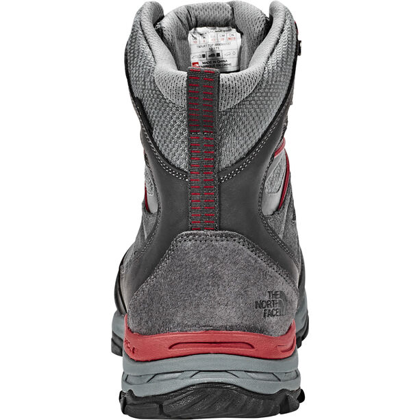 The North Face Hedgehog Trek GTX Schuhe Herren dark shadow grey/rudy red