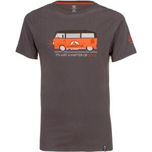 La Sportiva Van T-Shirt Herren carbon carbon