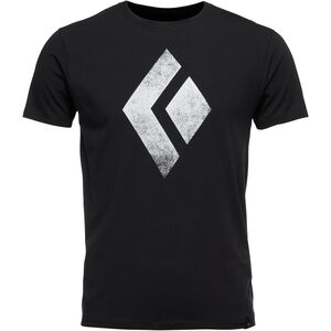 Black Diamond Chalked Up SS Tee Herren black black