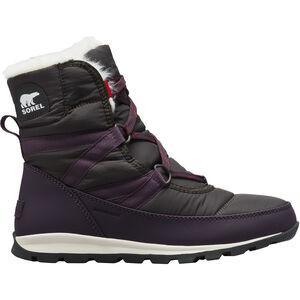 Sorel Whitney Short Lace Boots Damen dark plum dark plum