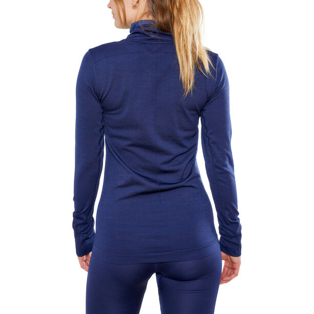 Craft Fuseknit Comfort Wrap Langarmshirt Damen maritime