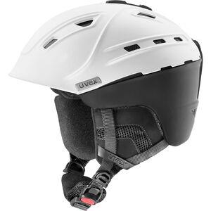 UVEX p2us IAS Ski Helm white/black mat white/black mat