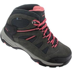 Hi-Tec Bandera II WP Shoes Damen charcoal/graphite/blossom charcoal/graphite/blossom