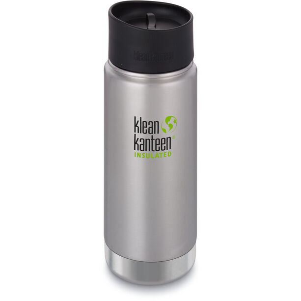 Klean Kanteen Wide Vacuum Insulated Bottle Café Cap 2.0 473ml brushed stainless