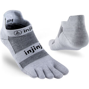 Injinji Run Xtralife Lightweight Sneakersocken Herren gray gray