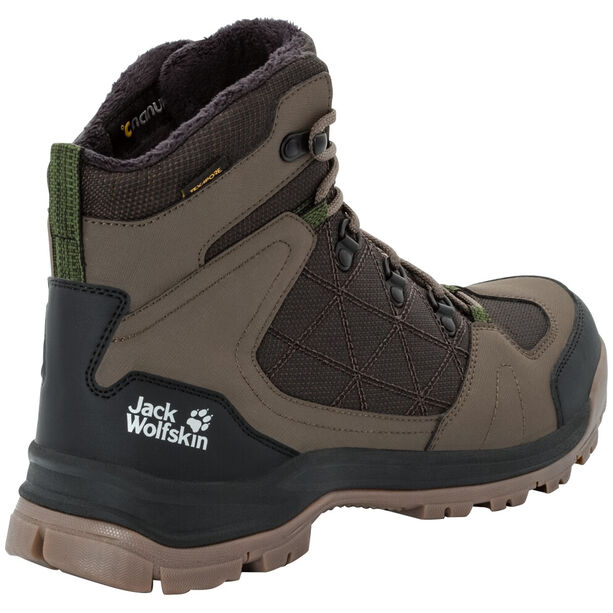 Jack Wolfskin Cold Terrain Texapore Mid-Cut Schuhe Herren coconut brown/black