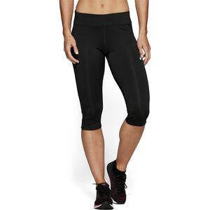 asics Silver Knee Tights Damen performance black performance black