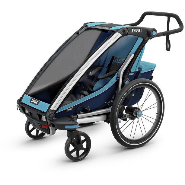 Thule Chariot Cross 1 Bike Trailer thule blue/poseidon
