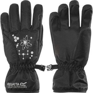 Regatta Arlie II Waterproof Gloves Kinder black black