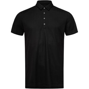 super.natural Piquet Polo Herren jet black jet black