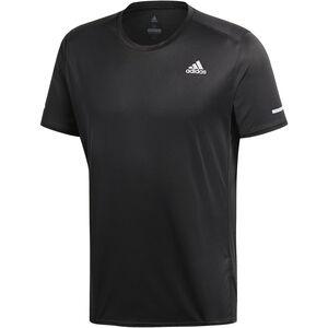 adidas Run Kurzarm T-Shirt Herren black black