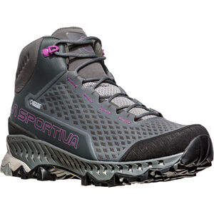 La Sportiva Stream GTX Surround Shoes Damen carbon/purple carbon/purple
