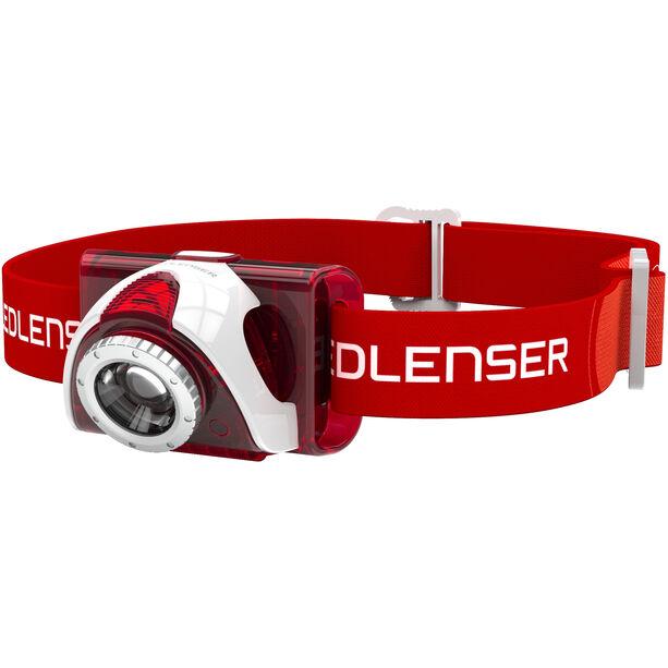 Led Lenser LED SEO 6 Stirnlampe red