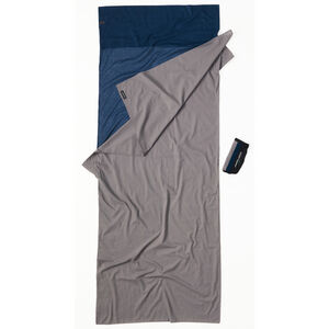 Cocoon TravelSheet Cotton tuareg/elephant grey tuareg/elephant grey