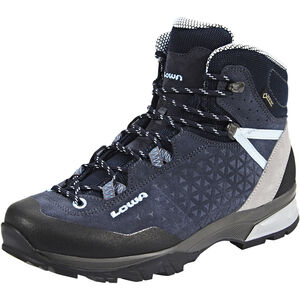 Lowa Sassa GTX Mid Shoes Damen navy/light blue navy/light blue