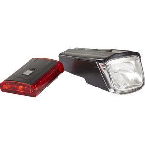 XLC Comp CL-S16 Beleuchtungs Set Titania schwarz schwarz