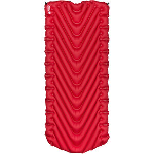 Klymit Insulated Static V Luxe Sleeping Pad red red