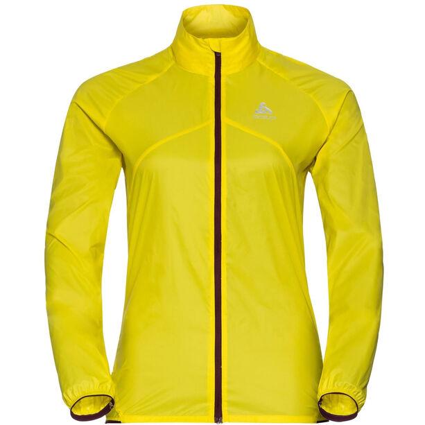 Odlo LTTL Jacke Damen blazing yellow