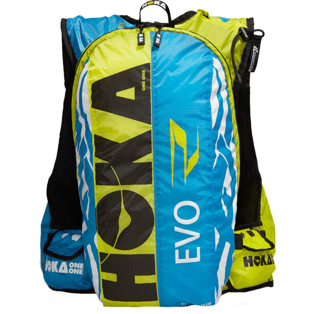 Hoka One One Evo R Backpack Herren cyan / white / citrus