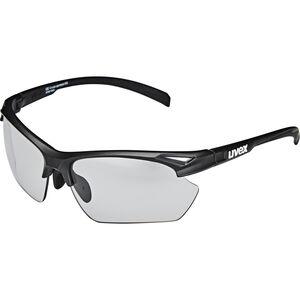 UVEX Sportstyle 802 V Sportbrille Small Damen black mat/smoke black mat/smoke