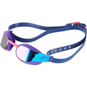 speedo Fastskin Elite Mirror Goggles violet/blue mirror