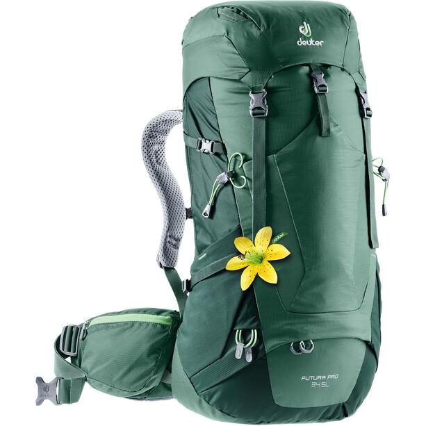 Deuter Futura Pro 34 SL Backpack Damen seagreen/forest
