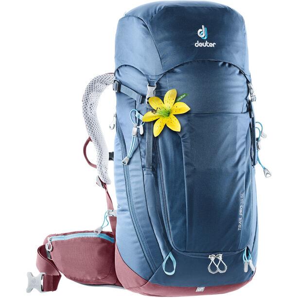 Deuter Trail Pro 34 SL Backpack Damen midnight-maron