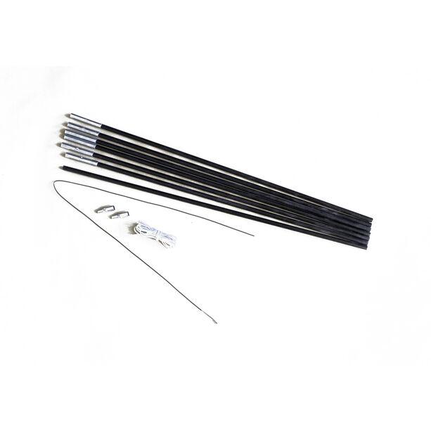 Relags Fiberglasstange 4m x 7,9mm 7 Segmente