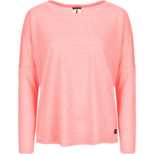 super.natural Jonser Langarmshirt Damen georgia peach melange georgia peach melange