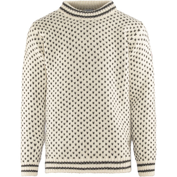 Devold Nordsjø Crew Neck Sweater Herren offwhite/anthracite