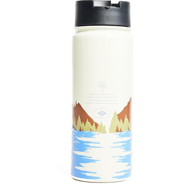 United By Blue Lakeside Edelstahl Reiseflasche 473ml cream