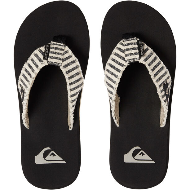 Quiksilver Monkey Abyss Sandals Herren black/black/grey