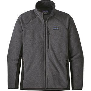 Patagonia Performance Better Sweater Jacket Herren forge grey with black forge grey with black