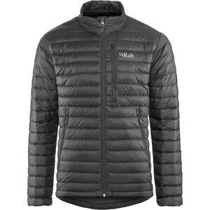Rab Microlight Jacket Herren black/shark black/shark