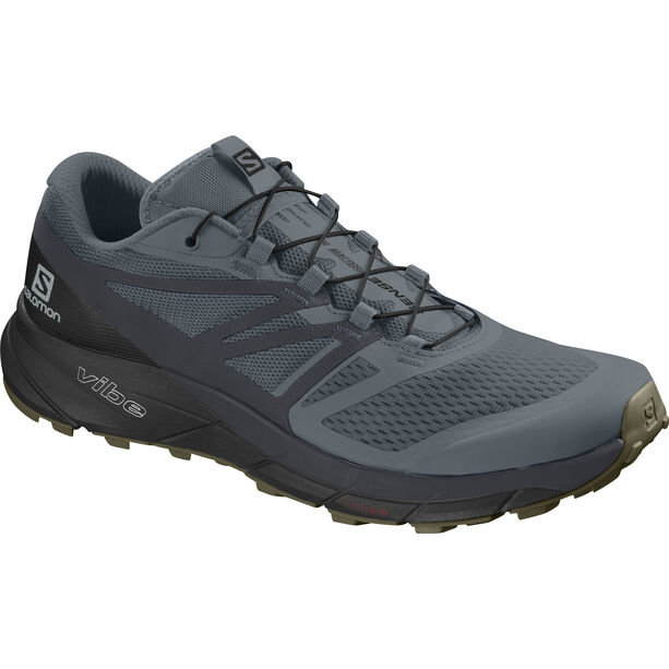 Salomon Sense Ride 2 Shoes Herren stormy weather/ebony/black