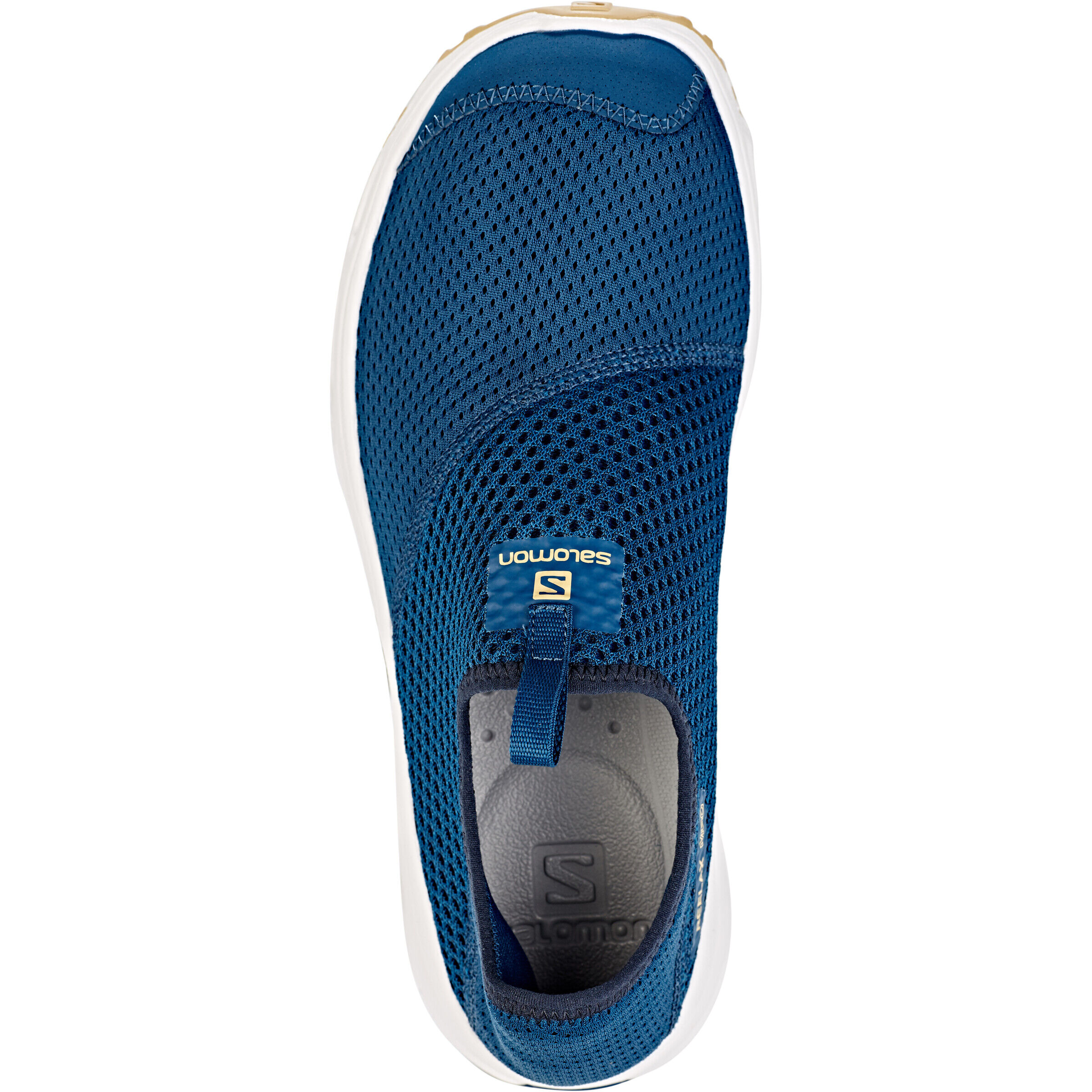 Salomon RX Moc 4.0 Schuhe Herren poseidonwhitetaos taupe
