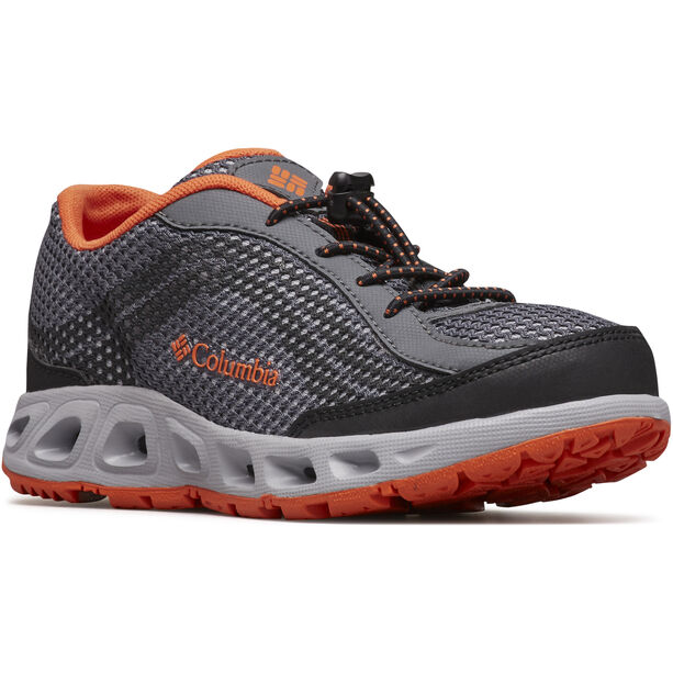 Columbia Drainmaker IV Shoes Kinder graphite/tangy orange
