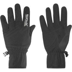 Regatta Xert Softshell Gloves Herren black black