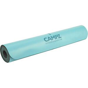 CAMPZ PU Position Line Yoga Matte blau blau
